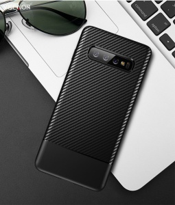 Ốp dẻo carbon Galaxy S10 Plus